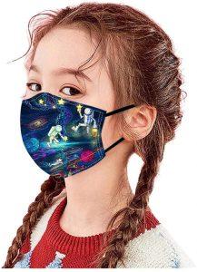 herbruikbaar en wasbaar mondmasker voor kinderen
