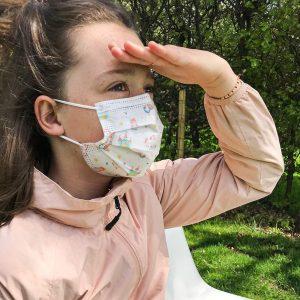 kinder mondmasker wegwerp voor meisjes